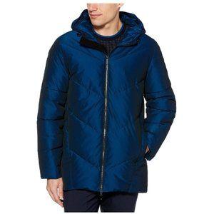 🎁Perry Ellis Principles Iridescent Puffer Jacket